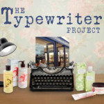 Crabtree and Evelyn Typewriter Project