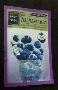 Bidanpo Mediental Botanic Garden Mask (Acaiberry) 1