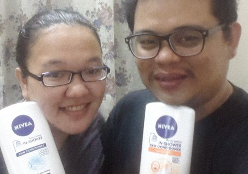 NIvea In Shower Skin Conditiner