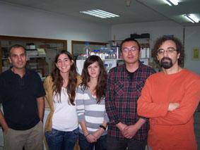 O equipo do Departamento de Medicina da Universidade de Santiago estuda os prións