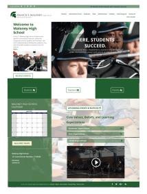Meriden School District - Maloney High School