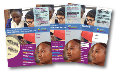 NMEF Multi-lingual Posters