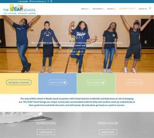 The UCAP School website Home Page