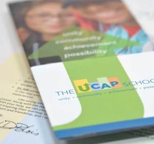 UCAP School Brand Closeup Brochure