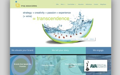 Imaj Associates Wins International Award for New Website