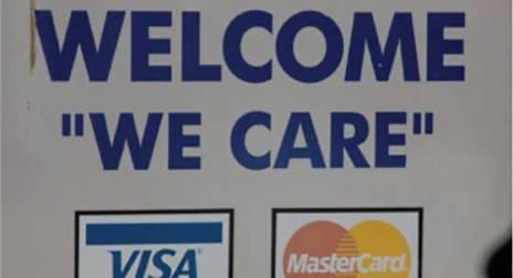 MasterCard sign