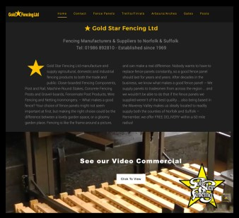 Gold Star Fencing - Bungay
