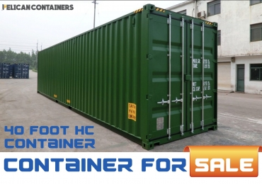 40′ HC Used Shipping Container for Sale in Dallas, TX