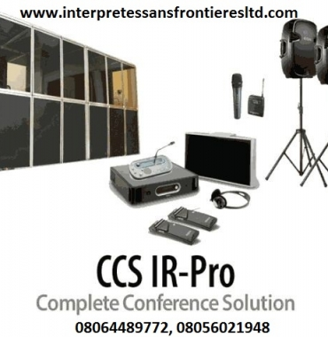 Simultaneous Interpretation Comference Equipment Rentals Nigeria Lagos/Abuja