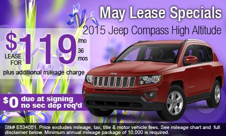 May Lease Specials