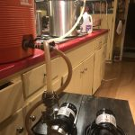 Brew setup in my kitchen