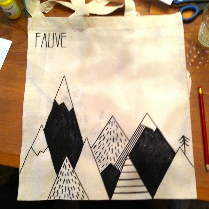 canvas tas - Fauve   #deeljeDIY @imakinNL