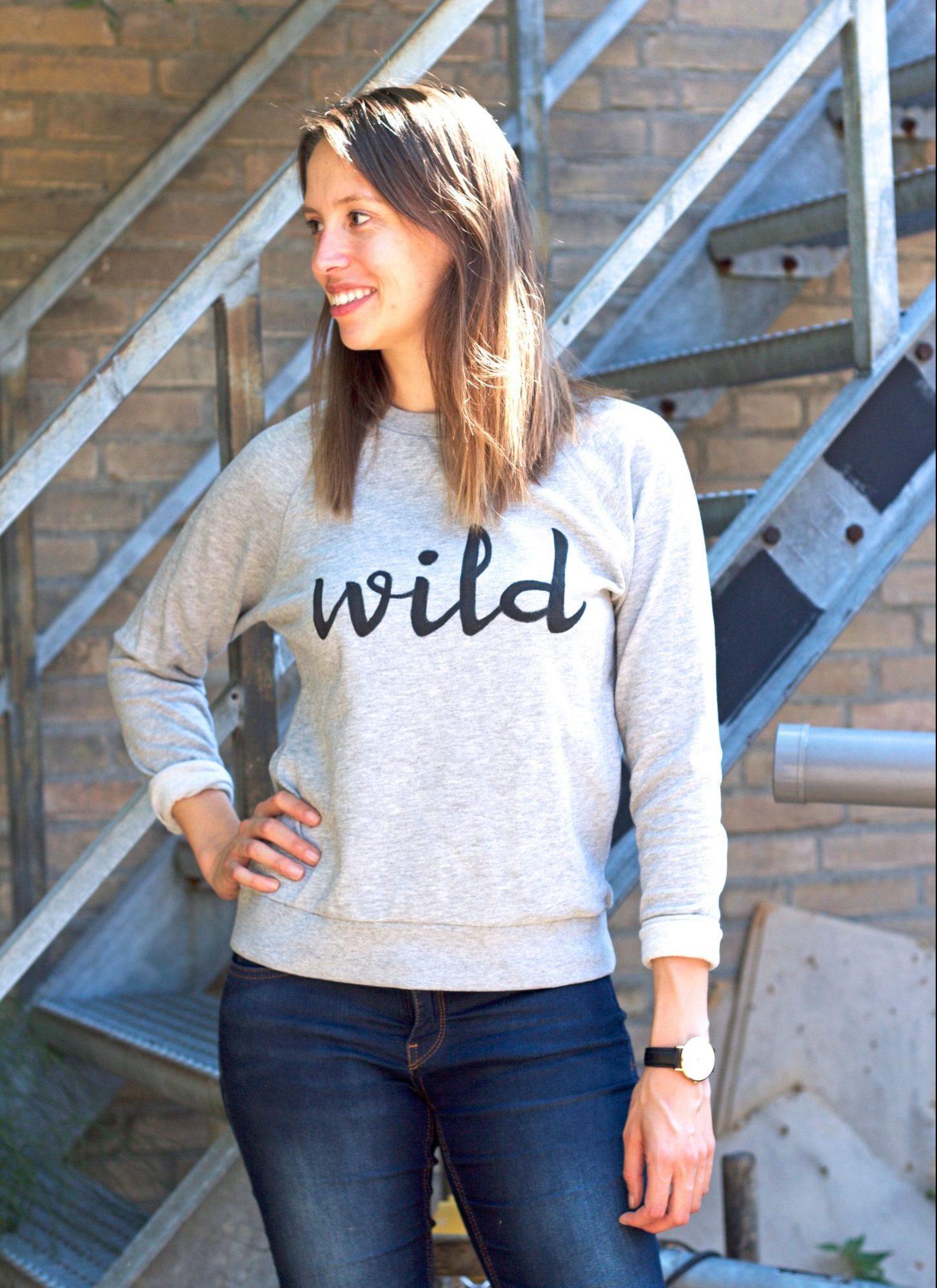 IMAKIN DIY tutorial Statement Sweater