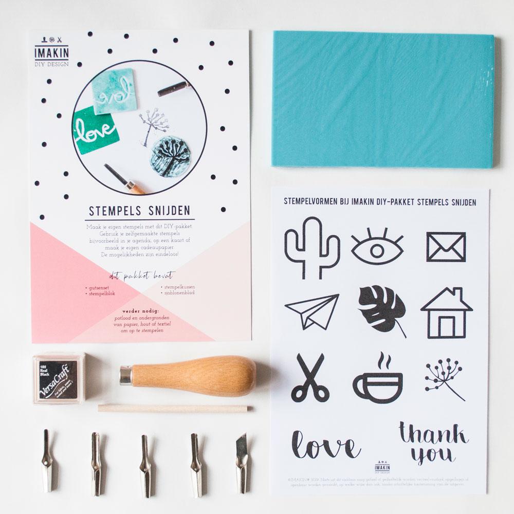 DIY-pakket Stempels Snijden | IMAKIN