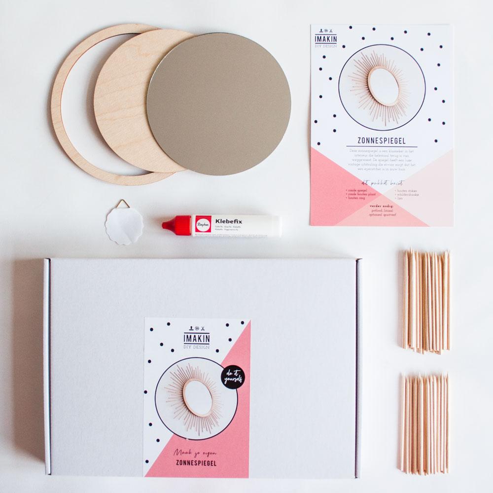 DIY-pakket Zonnespiegel | IMAKIN