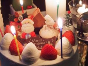 クリスマスケーキ 食べる日