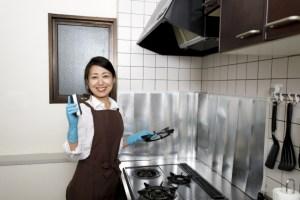 キッチン 目地 掃除