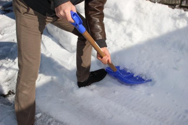 雪かき 効率 の いい やり方