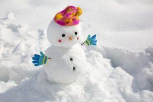 雪だるま 目 鼻
