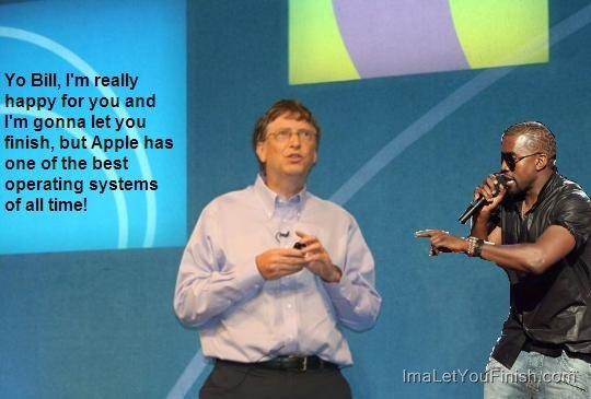 apple windows kanye west
