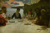 Giuseppe De Nittis, Pranzo a Posillipo, 1879