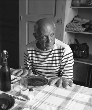 Robert Doisneau, Les pains de Picasso Credits: © Atelier Robert Doisneau