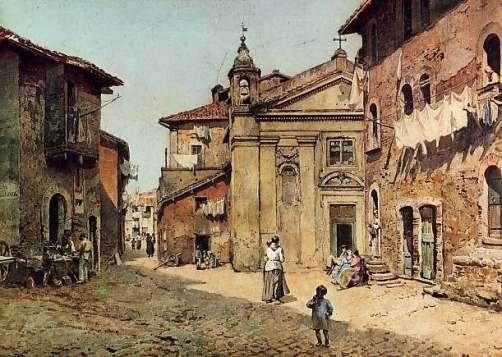 Ettore Roesler Franz, Santa Bonosa, 1880