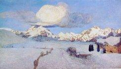 Giovanni Segantini, La morte, 1898-99