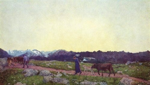 Giovanni Segantini, La vita, 1898-99