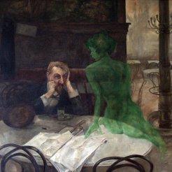 Viktor Oliva, I bevitori di assenzio, 1901