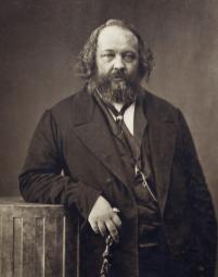 Nadar, Ritratto di Mikhail Bakunin, 1860