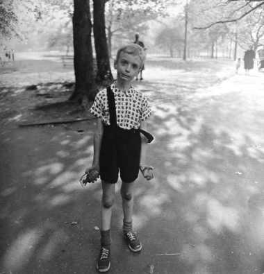 Child with Toy Hand Grenade in Central Park, New York, 1962