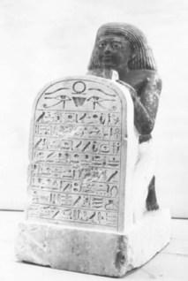 Kneeling statue of Nakht