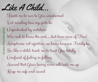 Like A Child...