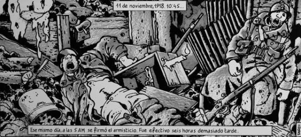 Jacques Tardi - La guerra de las trincheras