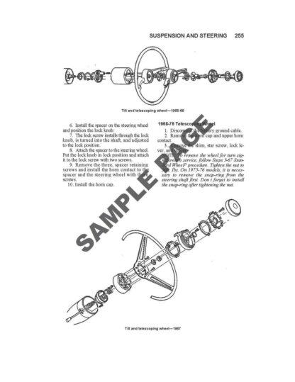 Chevrolet Corvette C2 C3 Repair Manual Instant Download