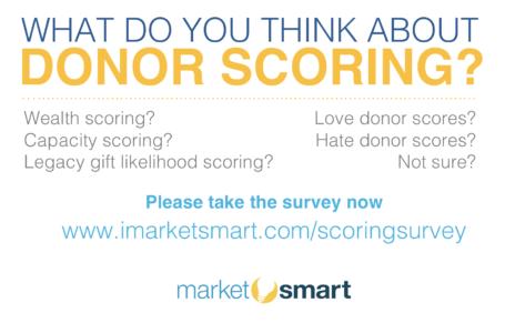 donor scoring survey
