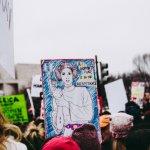 social justice warrior women march