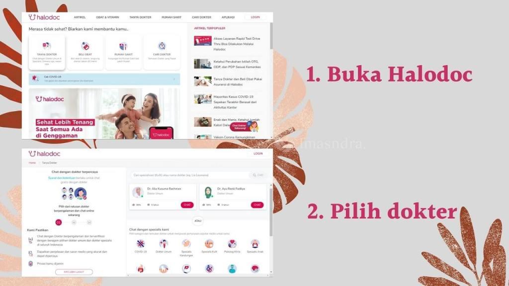 buka website halodoc