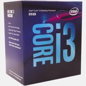 Processador INTEL I3 8100 3.6G 6MB 4C4T 65W IN BOX