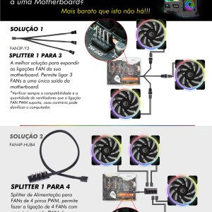 EXTENSAO DE 20CM MB 4PIN 12V RGB MALE-FEMALE