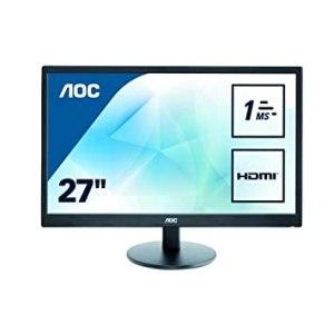 Monitor AOC LED 27' FHD E2770SH