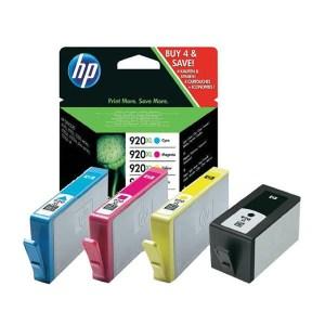 Tinteiro HP 920XL Cyan-Magenta-Amarelo-Preto - C2N92AE