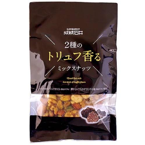 TVで紹介された成城石井トリュフ香るミックスナッツがこれです!