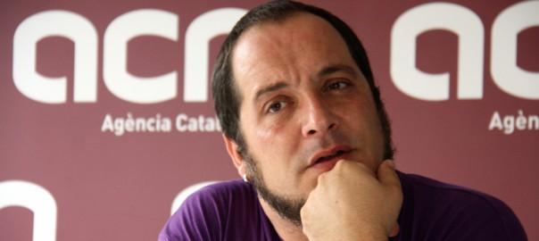 David Fernàndez, diputat de la CUP.