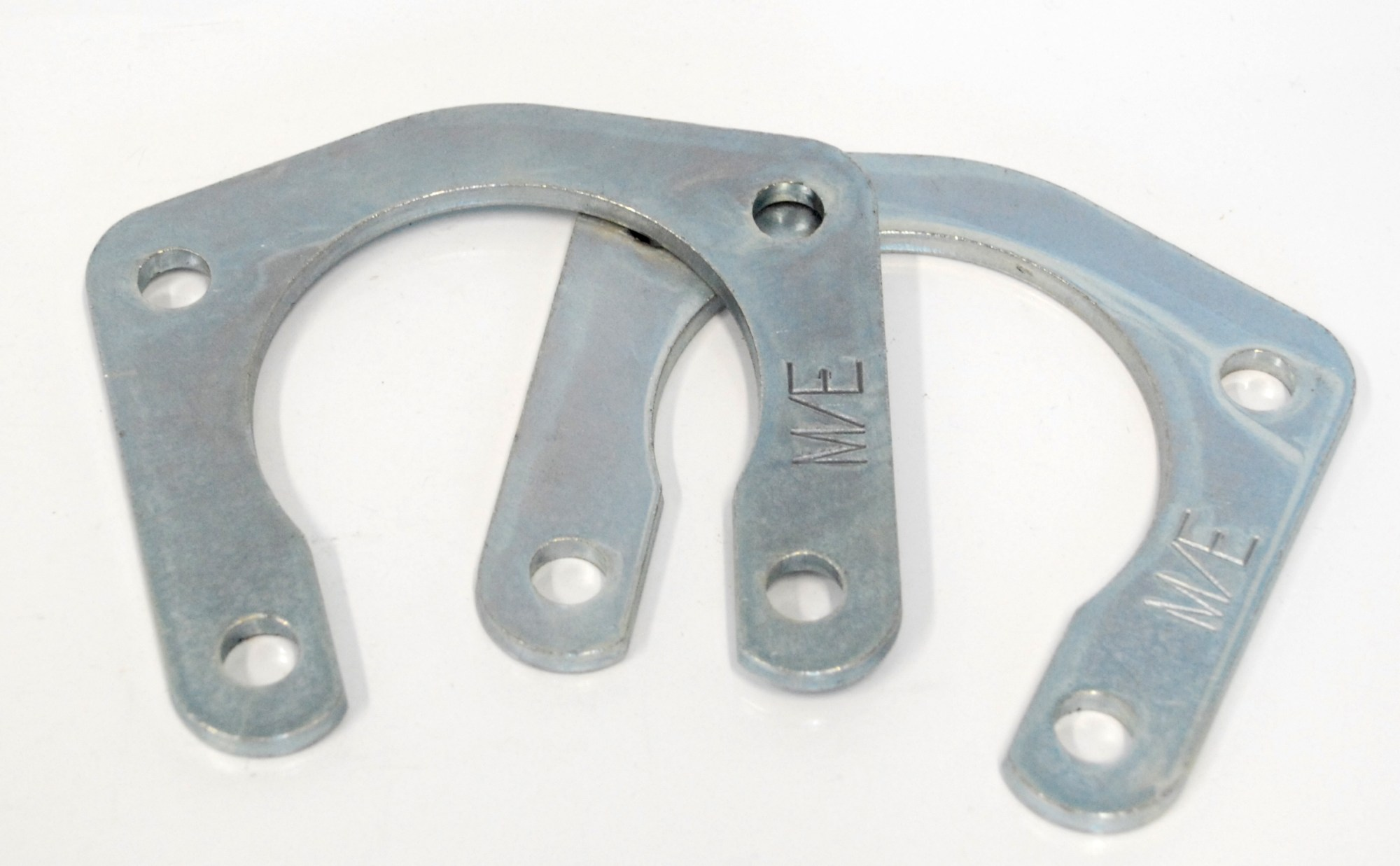 hight resolution of 9850 retainer plates 1949 1964 olds pontiac