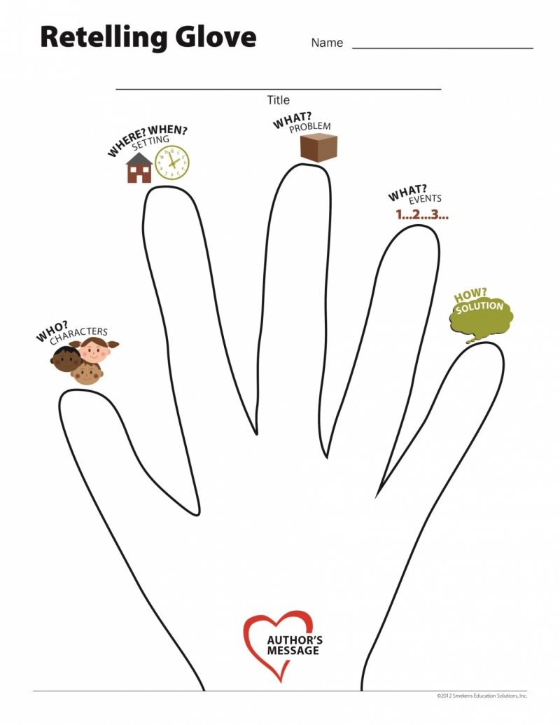 Use the Retelling Glove for Summarizing Stories