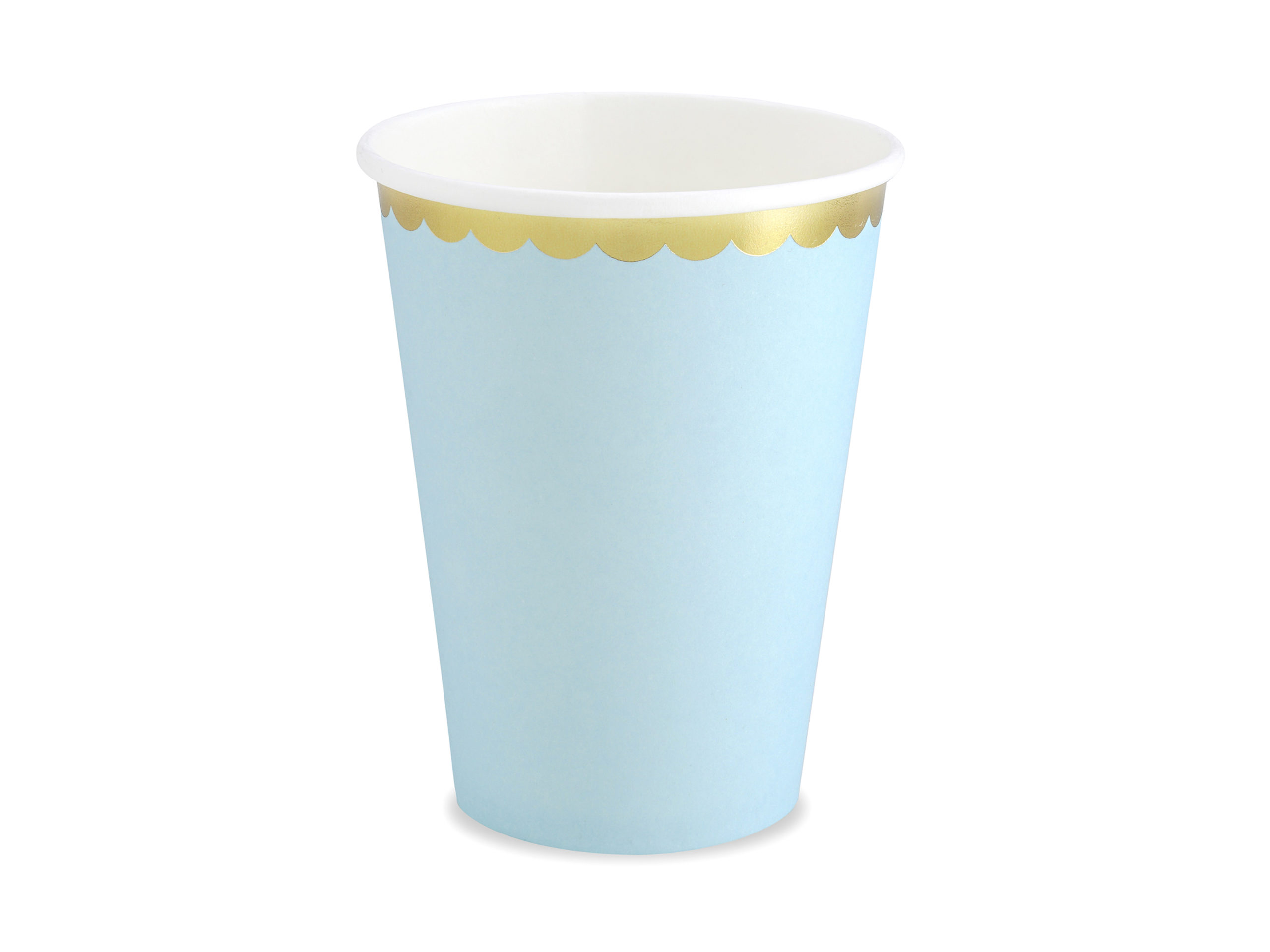 vaso azul pastel