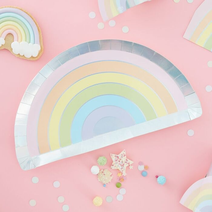 plato arcoiris