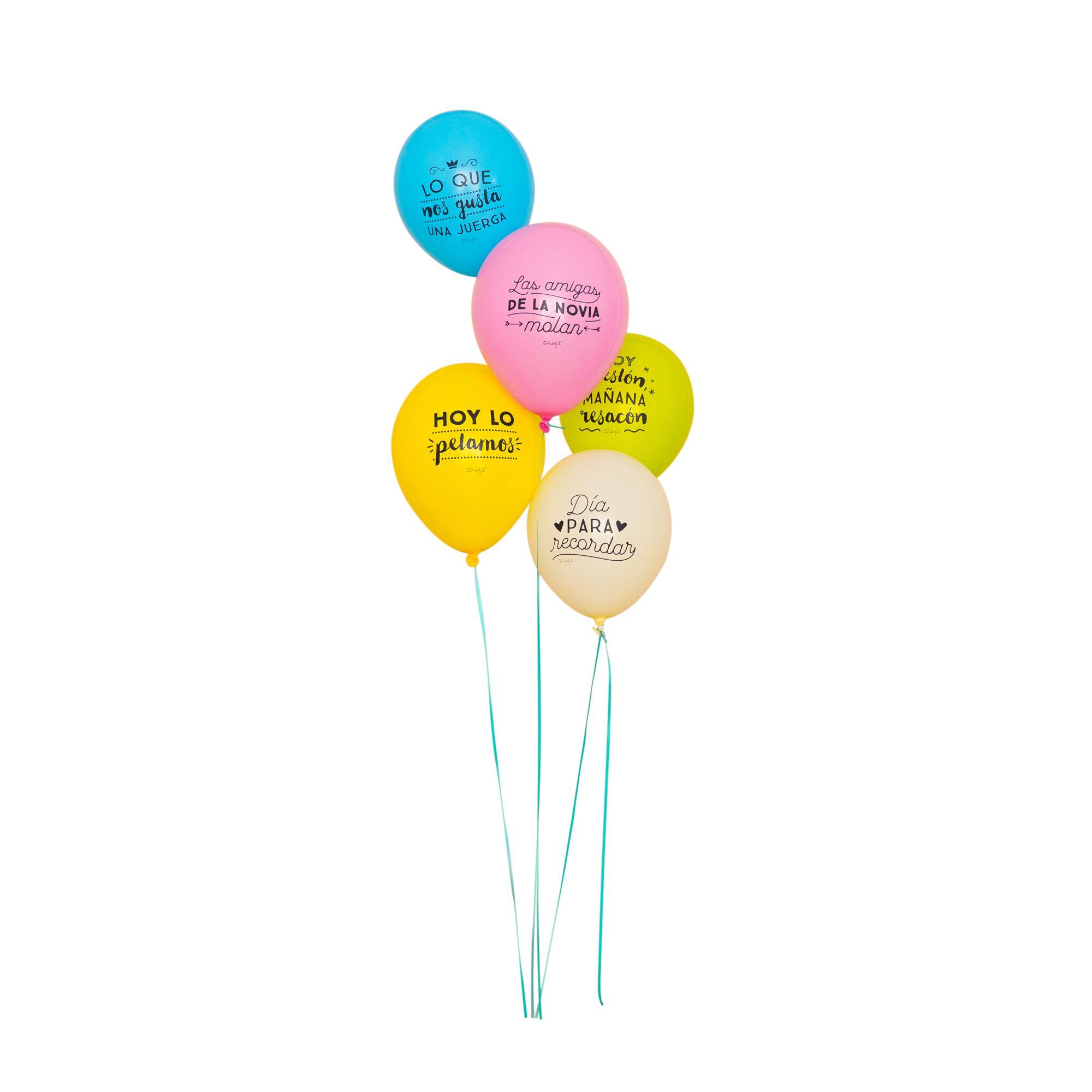 globos despedida de soltera